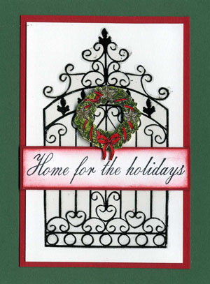 Home for the Holidays Gate