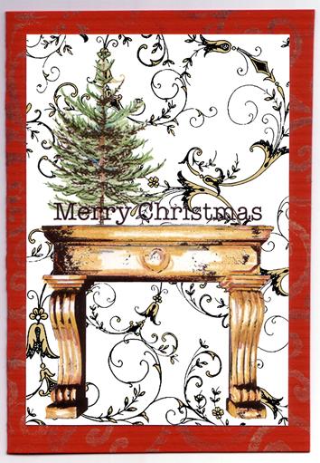 Mantel Christmas
